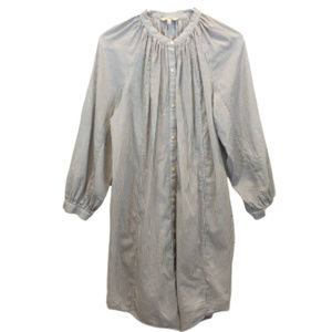 Lucky Brand Striped Pajama Style Dress - M